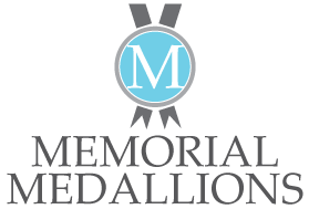 Commemorative Medallions – Etched Brass and Full Color Medallions to honor members of civic organizations, healthcare hero workers, military personnel in the Army, Navy, Air Force, Marine Corps, Coast Guard, Police Officers and Fire Fighters Logo